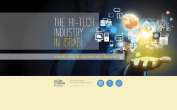THE HI-TECH INDUSTRY IN ISRAEL