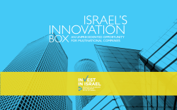 ISRAEL INNOVATION BOX