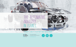 THE AUTOMOTIVE INDUSTRY IN ISRAEL