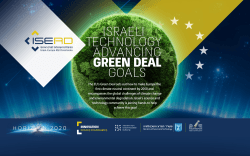 Israeli technology advancing European Green Deal goals